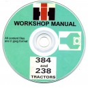 INTERNATIONAL HARVESTER 384 / 238 TRACTOR SERVICE MANUAL ON CD