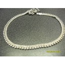 PLAIN BRIGHT METAL INDIAN ANKLET