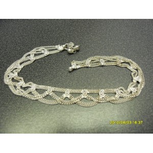 VERY PRETTY INDIAN BRIGHT METAL ANKLET C2
