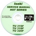 ISEKI TU315F, 318F, 320F TRACTOR SERVICE MANUAL ON CD