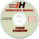 CASE INTERNATIONAL 1660E COMBINE OPERATOR'S MANUAL ON CD