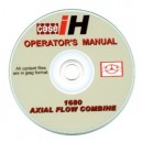 CASE INTERNATIONAL 1680 COMBINE OPERATOR'S MANUAL ON CD
