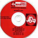 MANITOU OPERATOR'S AND SPARES MANUAL FOR MULTIPLE MODELS ON CD