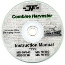JF MS 90/240, MS 90/210, MS70/180, MS70/150 COMBINE OPERATING MANUAL ON CD