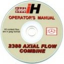 CASE 2388 AXIAL FLOW COMBINE OPERATOR'S MANUAL ON CD