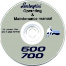 LAMBORGHINI 600 / 700 TRACTORS OPERATING & MAINTANENCE MANUAL ON CD