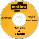 MATBRO TS270 & 280 LIFTER OPERATOR'S MANUAL ON CD