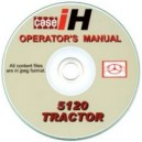 CASE 5120 TRACTOR OPERATOR'S MANUAL ON CD