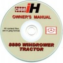 CASE 8880 WINDROWER TRACTOR OPERATOR'S MANUAL ON CD