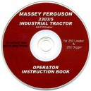 MASSEY FERGUSON 3303/5 IND. TRACTRO OPERATOR INSTRUCTION BOOK ON CD