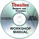 THWAITES ALLDRIVE 4000 MKII & 6000 MKIII WORKSHOP MANUAL ON CD