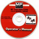 MASSEY FERGUSON 1010 2 & 4 WHEEL TRACTORS OPERATING MANUAL