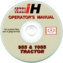 CASE 955 & 1055 TRACTOR OPERATOR'S MANUAL ON CD