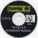 LANSING 72.0 & 72.5 FORKLIFT TRUCK WORKSHOP MANUAL ON CD