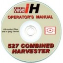 CASE 527 COMBINE OPERATOR'S MANUAL ON CD