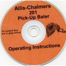 ALLIS CHALMERS 201 BALER OPERATOR'S MANUAL