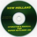 NEW HOLLAND SUPER HAYLINER 286 BALER OPERATOR'S MANUAL ON CD