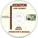 HESSTON 4800 BALER OPERATOR'S MANUAL ON CD