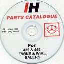INTERNATIONAL HARVESTER 435 / 445 PARTS CATALOGUE ON CD