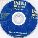 ISEKI TX SERIES TRACTORS OPERATION MANUAL ON CD