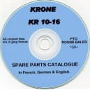 KRONE KR 10-16 BALER PARTS CATALOGUE
