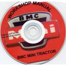 BMC MINI TRACTOR WORKSHOP MANUAL ON CD