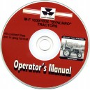 MASSEY FERGUSON 1030 & 1035 SYNCHRO OPERATOR'S MANUAL ON CD