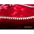INDIAN ANKLET CHAIN WITH SMALL PLAIN DISCS