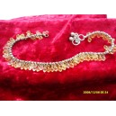 ANKLET, ANKLE CHAIN FROM INDIA ORANGE