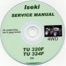 ISEKI TU320 & TU324F SERVICE MANUAL ON CD