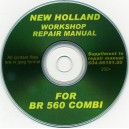 NEW HOLLAND BR560 BALER WORKSHOP MANUAL ON CD