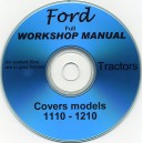 FORD 1110-1210 WORKSHOP MANUAL ON CD