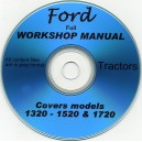 FORD NEW HOLLAND 1320 - 1520 - 1720 WORKSHOP MANUAL ON CD