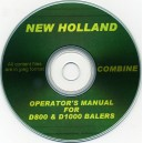 NEW HOLLAND D800 & D1000 BIG BALER OPERATING MANUAL ON CD