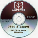 LAVERDA FIAT 3850 & 3850R COMBINE INSTRUCTION MANUAL ON CD