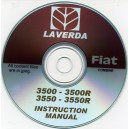 FIAT / LAVERDA 3500, 3500R & 3550, 3550R COMBINE INSTRUCTION MANUAL ON CD