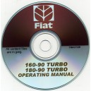 FIAT 160-90 TURBO & 180-90 TURBO TRACTOR OPERATING INSTRUCTIONS ON CD