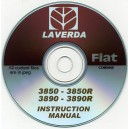 LAVERDA FIAT 3850 - 3850R & 3890 - 3890R COMBINE INSTRUCTION MANUAL ON CD