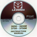 LAVERDA FIAT 3650 - 3650R & 3750 - 3750R COMBINE OPERATOR'S MANUAL ON CD