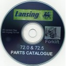 LANSING 72.0 & 72.5 FORKLIFT PARTS MANUAL ON CD