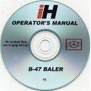 INTERNATIONAL HARVESTER B-47 BALER OPERATORS MANUAL ON CD