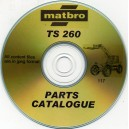 MATBRO TS260 PARTS CATALOGUE ON CD
