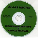 CLAAS NECTIS WORKSHOP REPAIR MANUAL ON CD