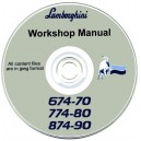 LAMBORGHINI 674-70, 774-80 & 874-90 WORKSHOP MANUAL ON CD
