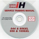 CASE 844, 856, 956 & 1056 TRACTORS SERVICE TRAINING MANUAL ON CD