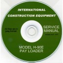 INTERNATIONAL CONSTRUCTION EQUIPMENT H-90E PAY LOADER SERVICE MANUAL ON CD