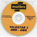 MATBRO TELESTAR 3 4WD - AWS OPERATING MANUAL ON CD