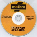 MATBRO TELESTAR 2524 4WD. SPARE PARTS CATALOGUE ON CD