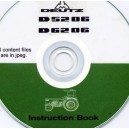 DEUTZ D5205 & D6206 TRACTOR OPERATING MANUAL ON CD