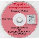 TOYOTA SL1 SL1T, SL1A & SL1D OVERLOCKER TRAINING VIDEO